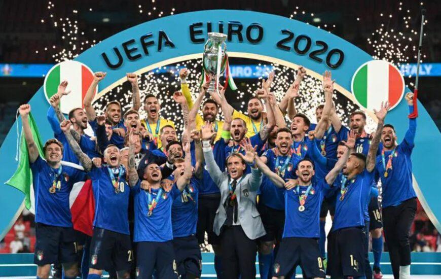 Azzurri tornano sul tetto d'Europa